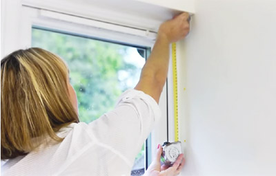 Elektrische raamdecoratie is ideaal voor moeilijk bereikbare plekken